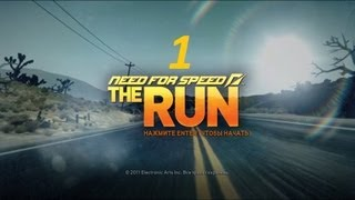 Прохождение Need For Speed. The Run часть 1 Неприятности и гонка
