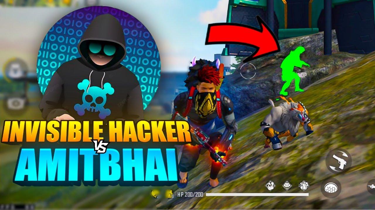Invisible Hacker Vs AmitBhai in Last Zone 🔥🔥🔥 || Desi Army