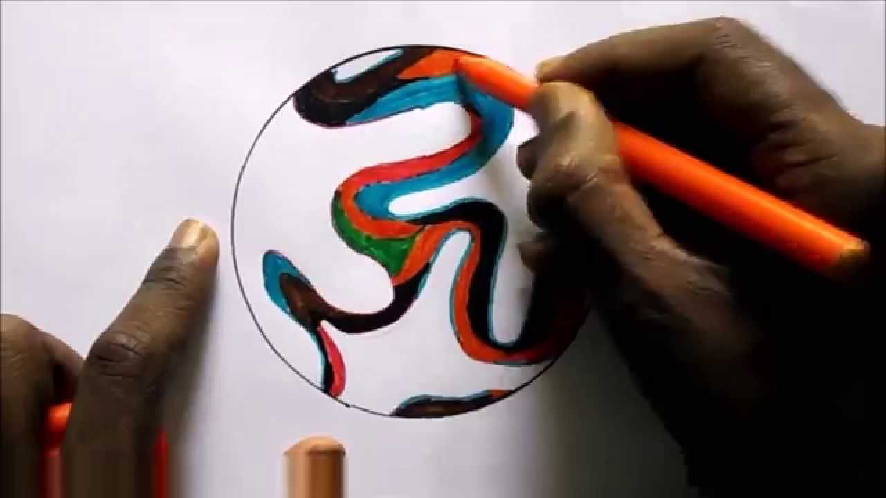 how to draw a football youtube