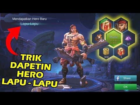 TRIK MUDAH MENDAPATKAN HERO LAPU-LAPU !!  Mobile Legend Indonesia #58