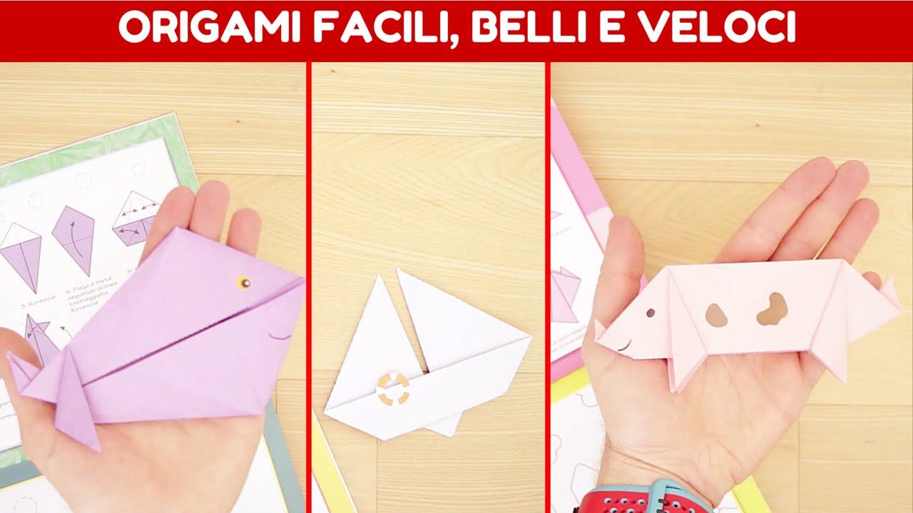 Origami Facili Belli E Veloci Con Istruzioni Passo Passo Animali