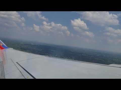 Southwest Airlines takeoff from St. Louis Lambert International Airport