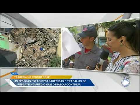 Sobe Para 49 O Número De Desaparecidos De Prédio Que Desabou Em São Paulo