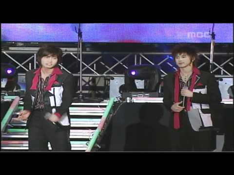 DBSK - One + I Wanna Hold You + Rising Sun (Busan Power Concert) 2006.04.12