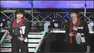 DBSK - One + I Wanna Hold You + Rising Sun (Busan Power Concert) 2006.04.12