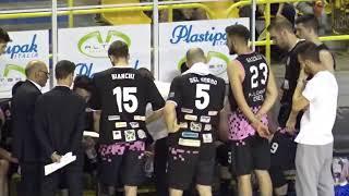 LNP Playoff Serie B 2018 Gara 1 Semifinali Tab  1   Omegna vs Crema