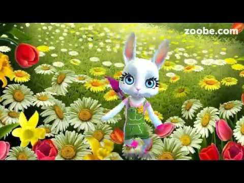 ZOOBE зайка .Поздравление Сестры с Днём Рождения - Лучшие приколы. Самое прикольное смешное видео!