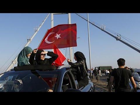 Turkish president Erdogan condemns coup attempt