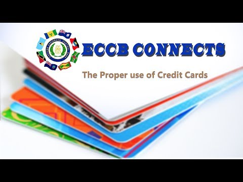 ECCB Connects Season 8 Episode 6 - How to Avoid High Credit Card Debt