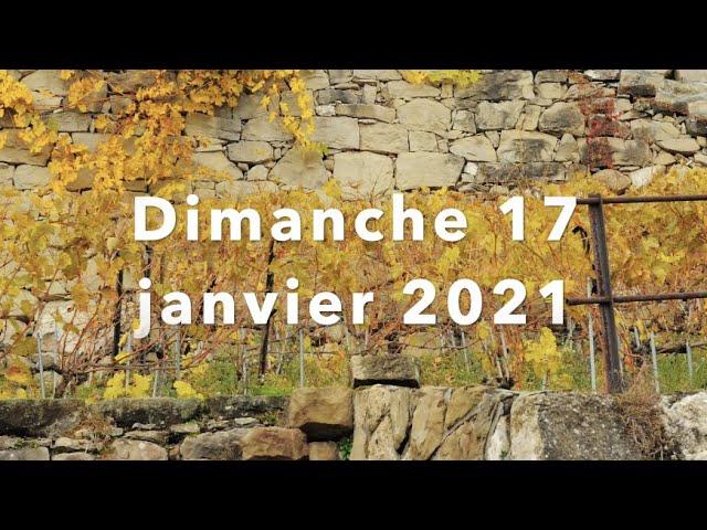 Culte du 17 janvier 2021 - ACCVA