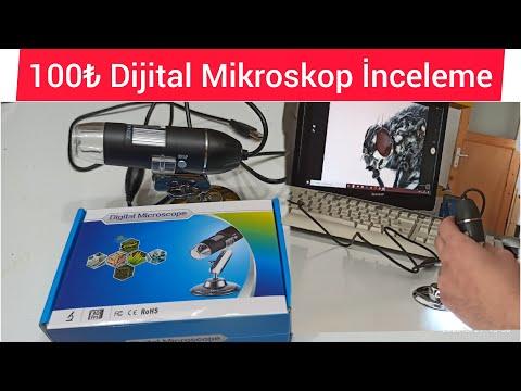 Dijital Mikroskop Kutu Açılımı 1000x Zoomu Denedik ?