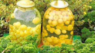 Рецепт компота из зеленого винограда Семья Булатовых