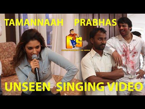 Tamanna singing talent - Unseen