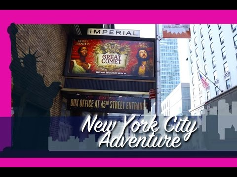 My NEW YORK CITY ADVENTURE 2016 VloggityVlogVlog - @dramaticparrot