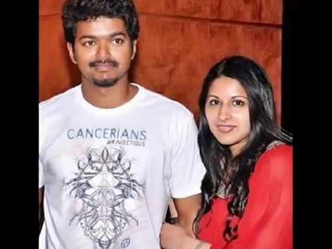 Tamil Film Star Vijay And Sangeetha Wedding Anniversary Pics