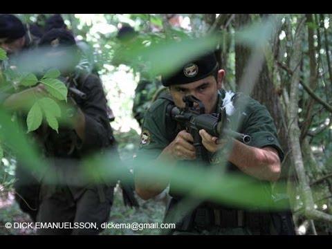ATAQUE DE LAS FARC A UN PELOTON EN ARAUCA