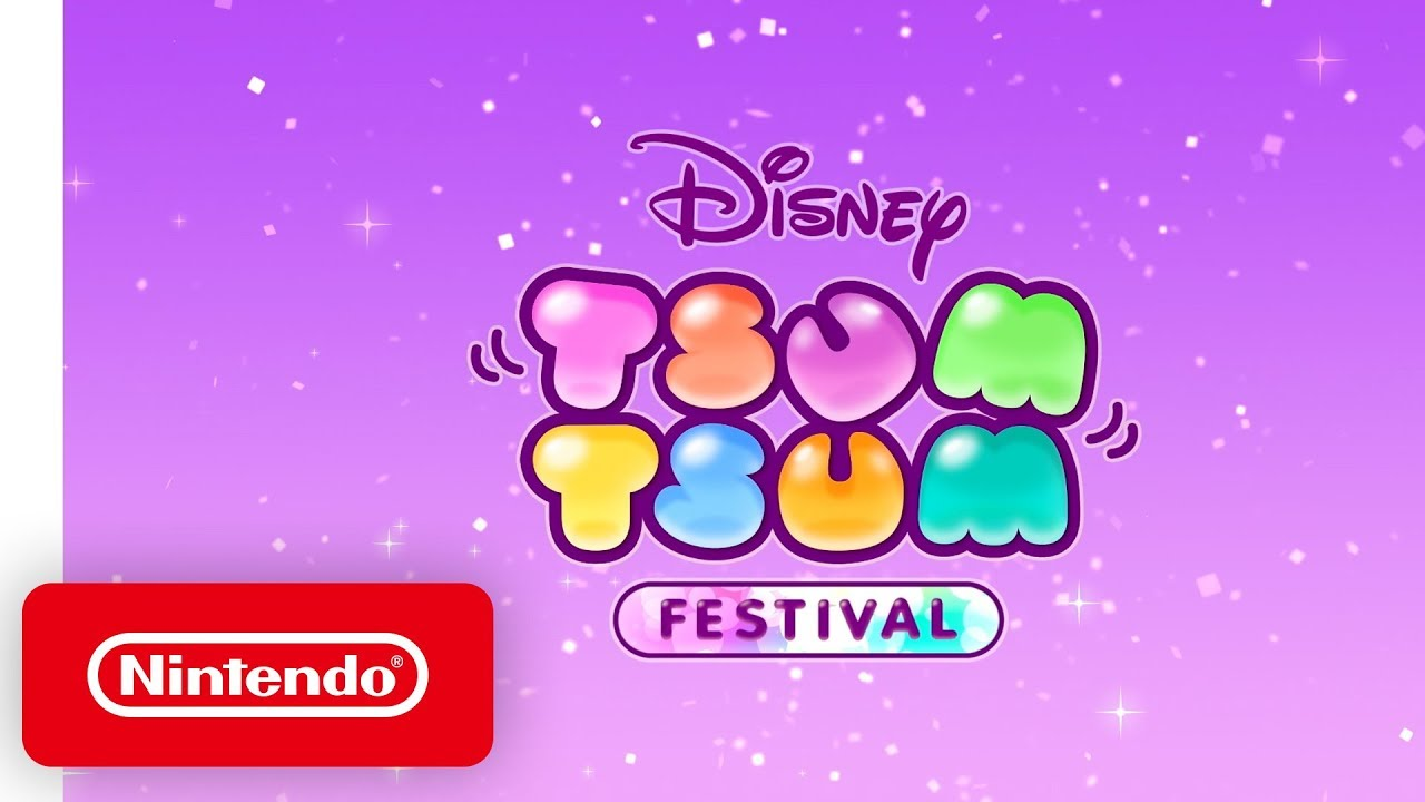 Launch Trailer για το Disney TSUM TSUM FESTIVAL