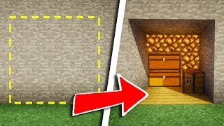 TUTO PASSAGE SECRET ULTRA SÉCURISÉ ! | Minecraft