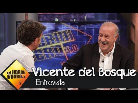 """Vicente del Bosque en El Hormiguero 3.0: """"Podemos aprender mucho de la derrota"""""""