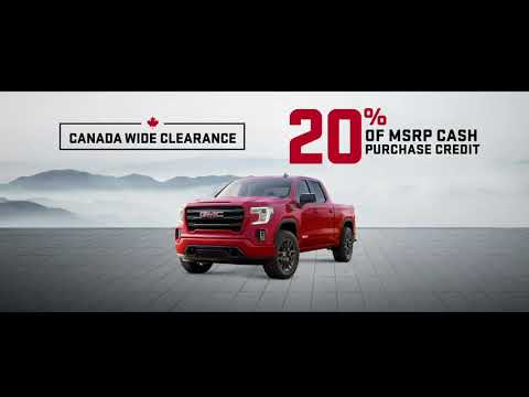 GMC Canada Wide Clearance @ Eagle Ridge GM In Coquitlam