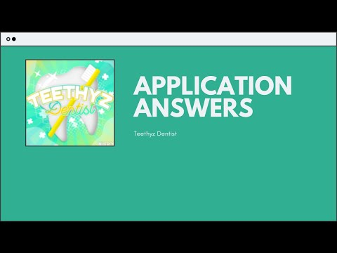 Answers To Verde Application Roblox Soro S Application Answers Roblox Youtube