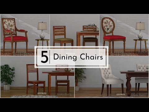 Top 5 Dining Chairs at Woodenstreet.com starting from Rs. 5799