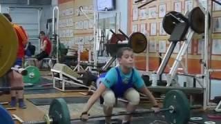 Маклаков Тимур, 13 лет вк 46  Атака на 48 кг в рывке