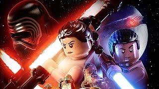 Мультик Игра - Лего Звёздные Войны Пробуждение Силы -  Lego Star Wars: The Force Awakens прохождение