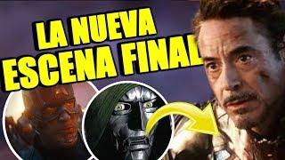 ¡QUÉ DEMONIOS! El relanzamiento de Avengers Endgame podría presentar al Dr. Doom  RUMOR