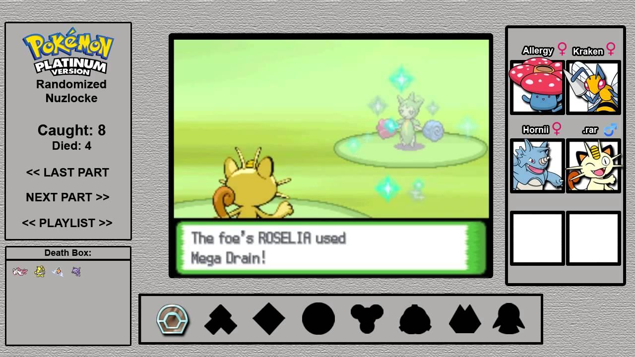 Pokémon Platinum Randomizer Nuzlocke Part 13 Eterna City And Its