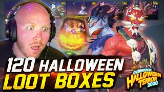 OVERWATCH HALLOWEEN LOOT BOX OPENING! SO MANY LEGENDARIES!