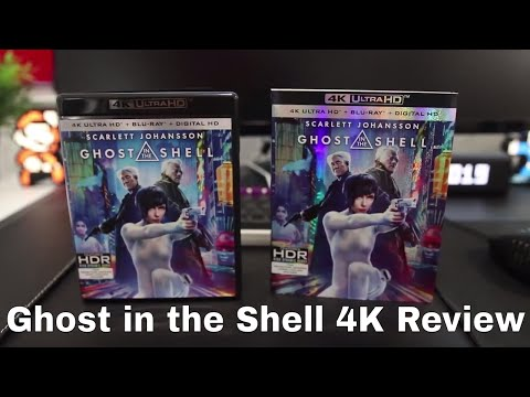 Ghost In The Shell 4k Uhd Blu Ray Review Youtube