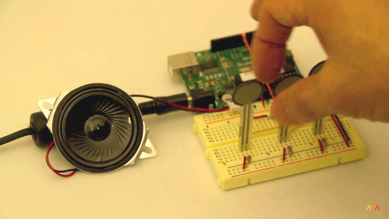 Arduino examples tonekeyboard force sensitive resistor