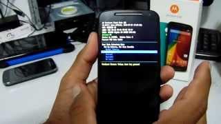HARD RESET MOTO G (2° Geração) Android Kitkat 4.4.4