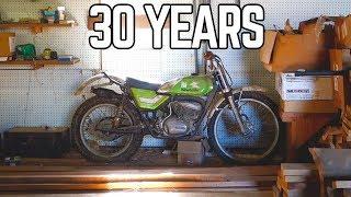 250cc 2 Stroke Kawasaki Barn Find: Ike