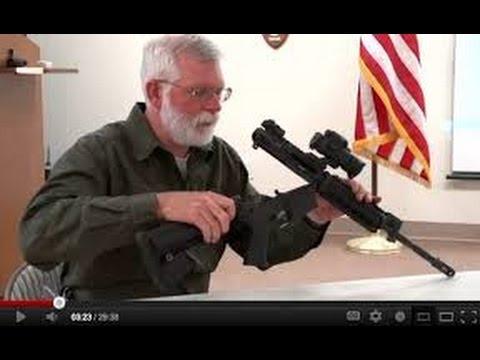 AR 15 Maintenance  Field strip, Clean and Lubricate an AR 15   Gunsite Academy Firearms Training