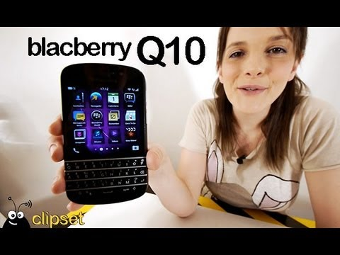 BlackBerry Q10 review Videorama