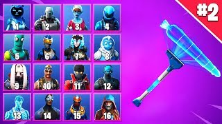GUESS THE SKIN FOR HER PICKAXE IN FORTNITE #2 | Fortnite Quiz