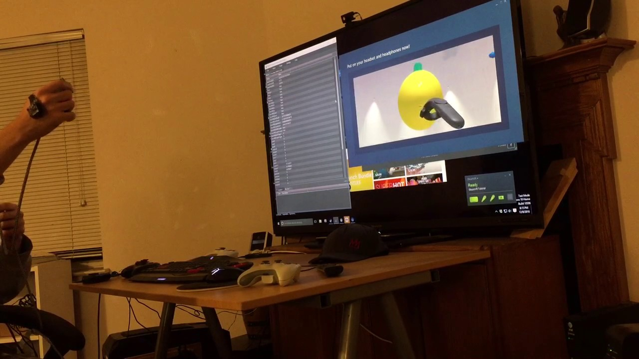 Revealed: Homebrew Controller Working In Steam VR | Hackaday