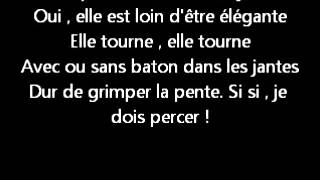 La roue tourne. Paroles.