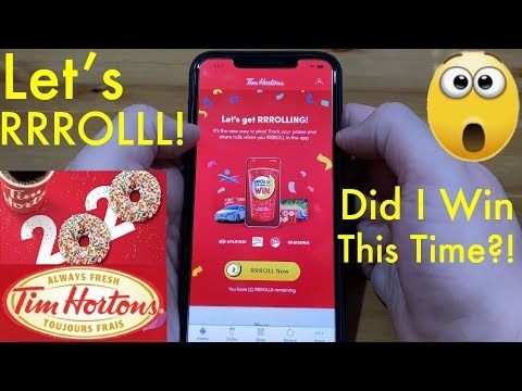 showing-how-to-roll-up-the-rim-in-2020-on-the-tim-hortons-mobile-app!