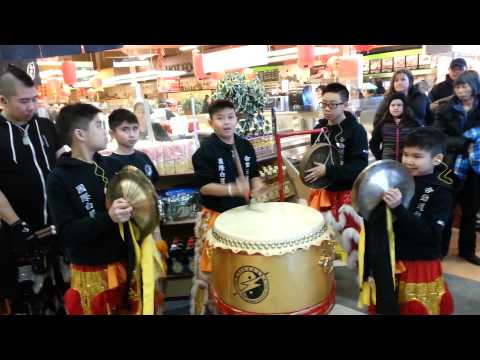 Drumming Demo 01 @ New T&T Supermarket Calgary 2015