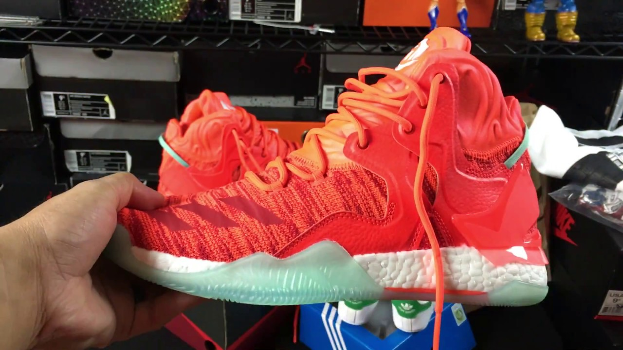 adidas d rose 4 unboxing