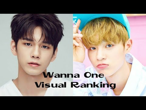 WANNA ONE VISUAL RANKING