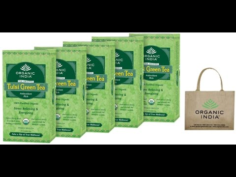 Tulsi Green Tea | Unboxing