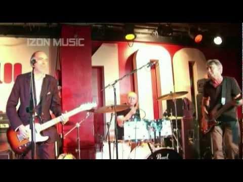 Mick Jones, Steve Diggle and Glen Matlock at 100 Club