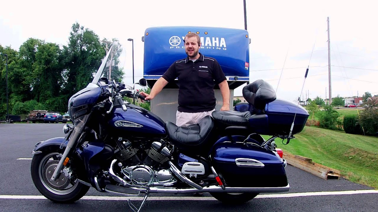 Yamaha Royal Star Venture 2007 - YouTube