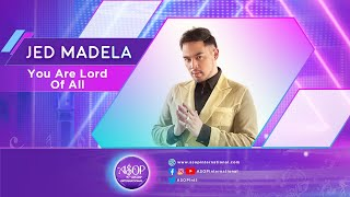 """Jed Madela sings """"You Are Lord Of All"""" by Ma. Luz Lilet Esteban 