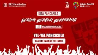 Yel Yel Bulan Pancasila BPJS Kesehatan #KCPolewali
