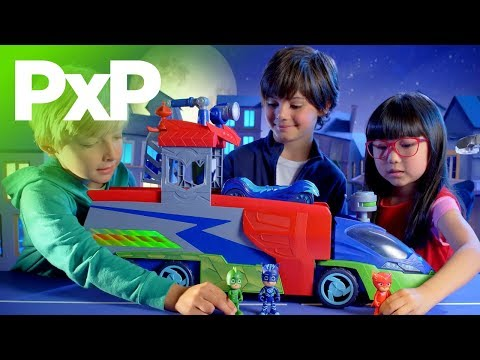 Go into the night to save the day with Just Play's new PJ Masks toys! | A Toy Insider Play by Play